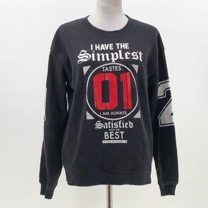 forever 21 sweatshirt I have the simplest tastes